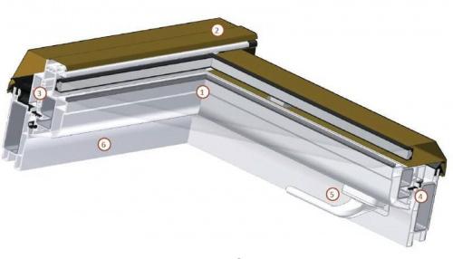 pvc dachfenster skylight 94x140 94x118 78x118 78x140. Black Bedroom Furniture Sets. Home Design Ideas